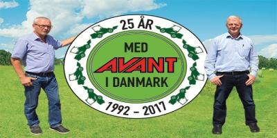 25 år med Avant i Danmark!