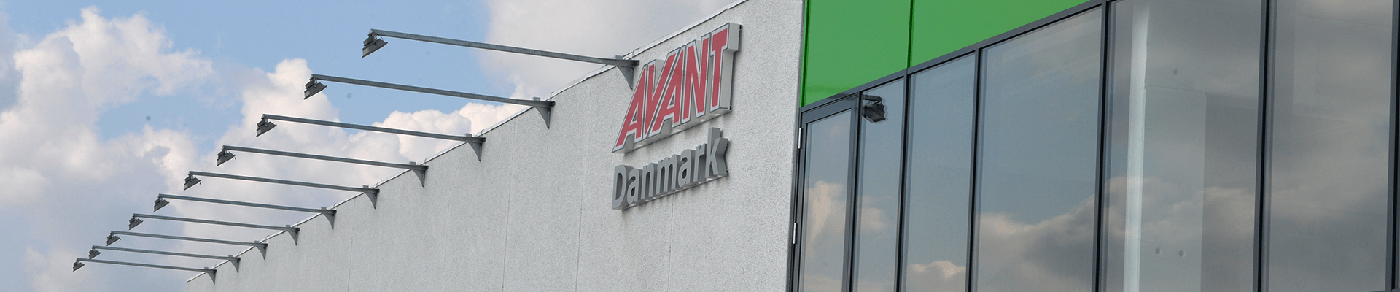 AVANT Danmark showroom facede