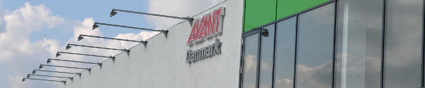 AVANT Danmark showroom facede