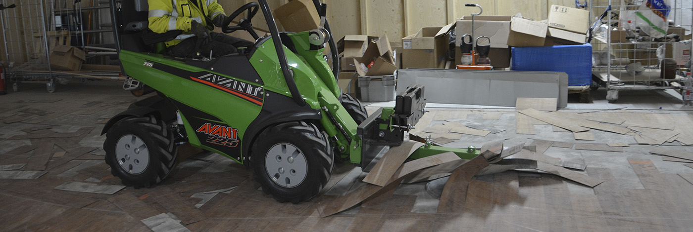 Meget hurtig og effektiv fjernelse af gulvmateriale m. denne discskraber