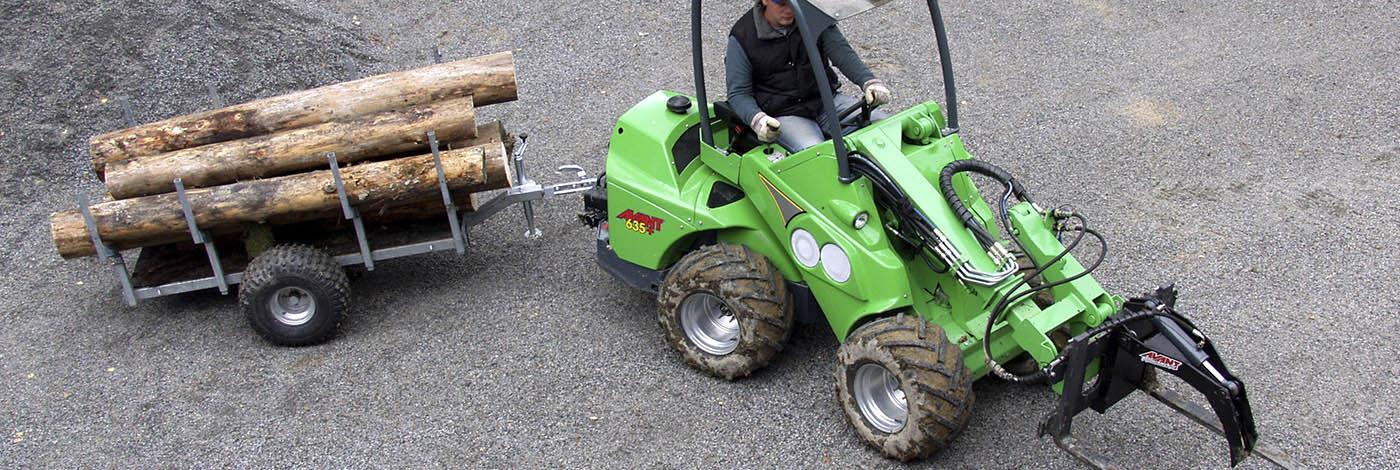 Avant skovvogn, er helt perfekt til dig, der arbejder i skoven