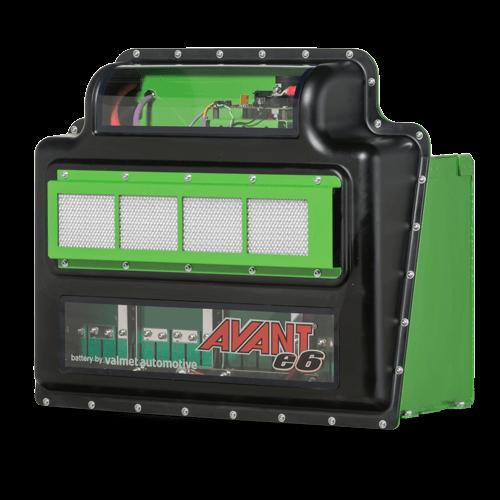 Lithium-ion batteri til en AVANT e6 minilæsser